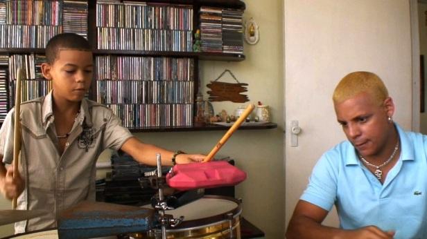 Cuba - Alex Suárez and his father René