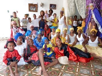 Cuba. The Pérez family and the group Moddeya y sus Raices in Matanzas