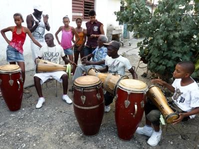 "Cuba. The community project ""Patio de Tata Güines"""