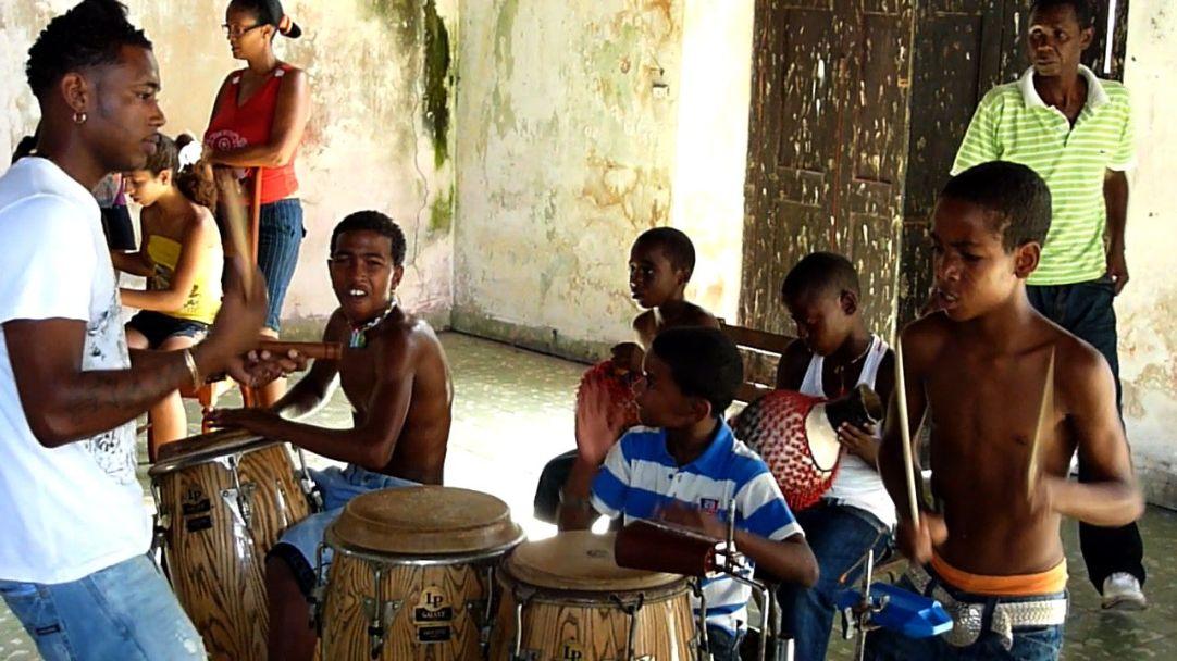 Cuba. The Ramos family in Matanzas