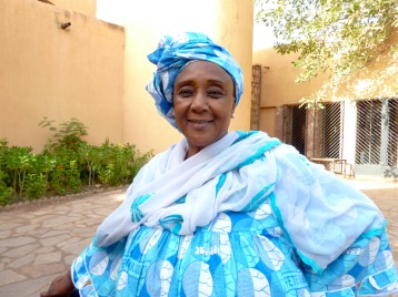 Mme Fatou Toure, curator of the Jeudis Musicaux at the National Museum