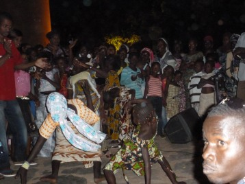 ...with the songs and dances of the Kouyate girls of Garana